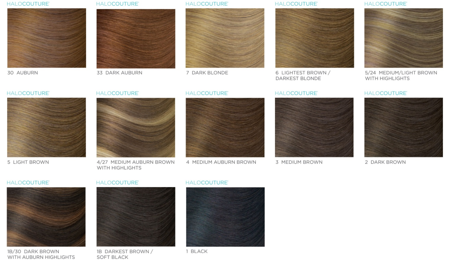 Halo extension colors halo couture purchase hair extensions home pmusecretfo Images